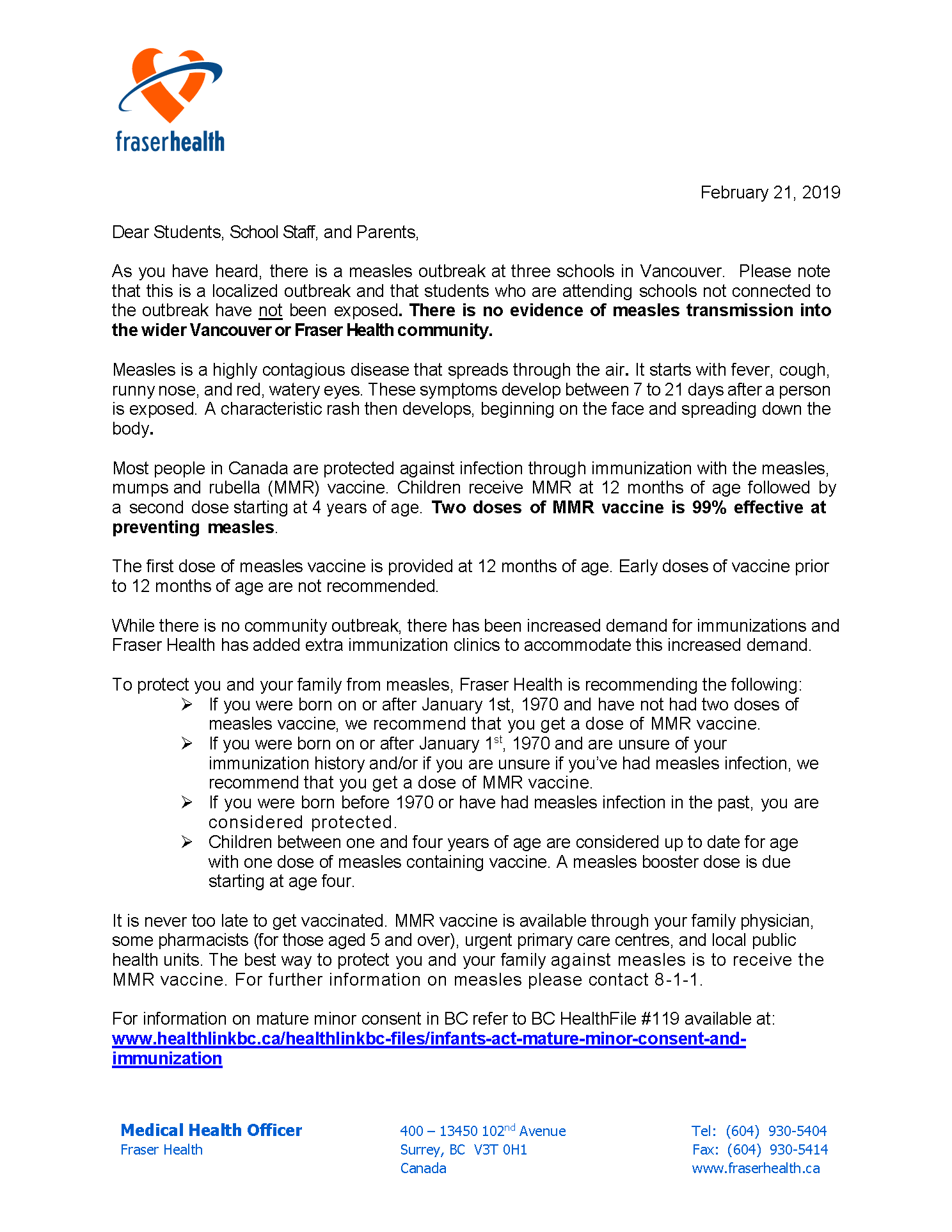 Measles letter to SDs and Parents - AB_20190221